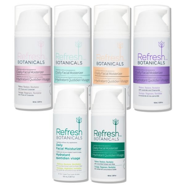Fragrance Facial Moisturizer Family Pack