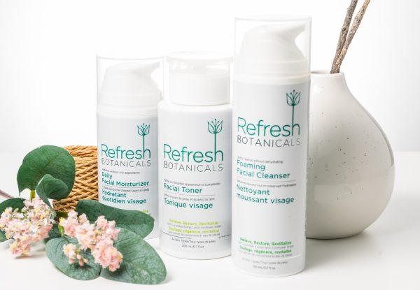 Cucumber - 3 Step Facial Care Kit <br> cleanse, tone, moisturize 3