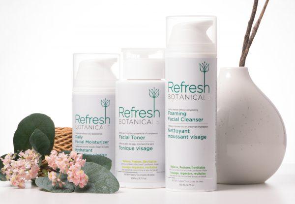Cucumber - 3 Step Facial Care Kit <br> cleanse, tone, moisturize 2