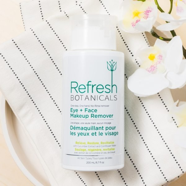 Best Natural Eye & Face Makeup Remover