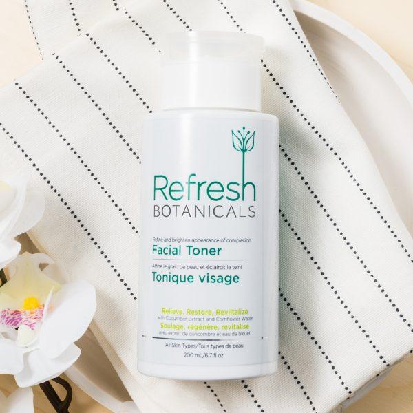 Cucumber and Cornflower Facial Toner to balance skin pH 2