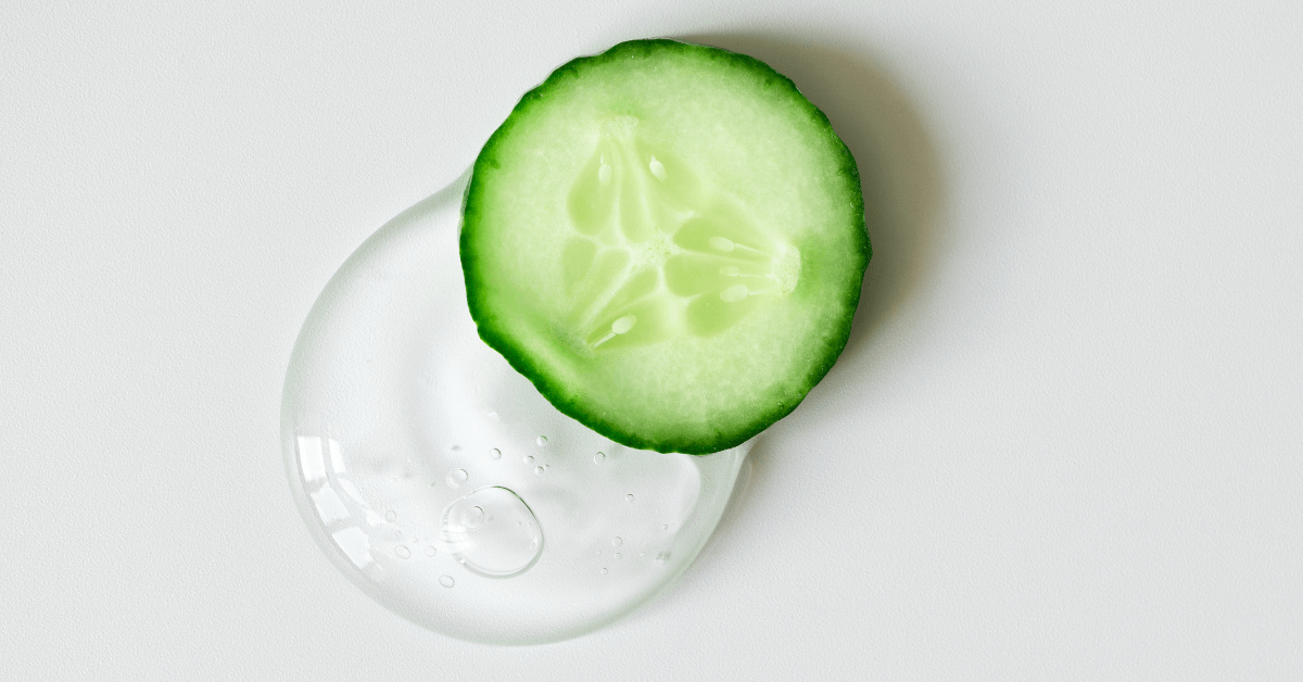 Cucumber – the superfood for skin